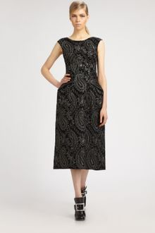 Marc Jacobs Paisley Dress - Lyst