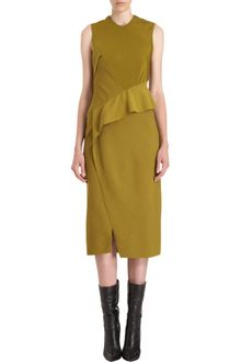 Narciso Rodriguez Ruffle Waist Dress - Lyst