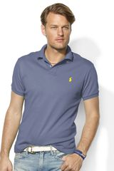 Polo Ralph Lauren Classic Fit Interlock Polo - Lyst