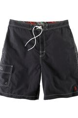 Polo Ralph Lauren Polo Black Kailua Swim Trunk - Lyst