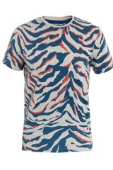 Balenciaga Camo Print Tshirt in Gray for Men (camo) - Lyst