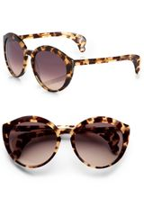 Bottega Veneta Catseye Acetate Sunglasses