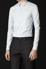 Burberry Prorsum Slim Fit Cotton Shirt - Lyst