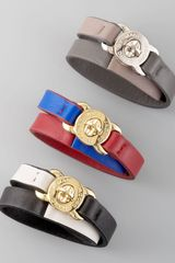 Marc By Marc Jacobs Lasercut Leather Katie Bracelet - Lyst
