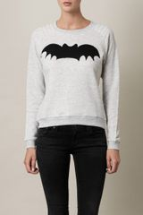 Zoe Karssen Batprint Sweater - Lyst