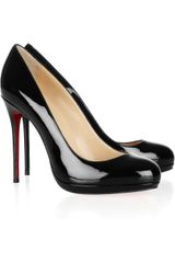 Christian Louboutin Filo 120 Patentleather Pumps