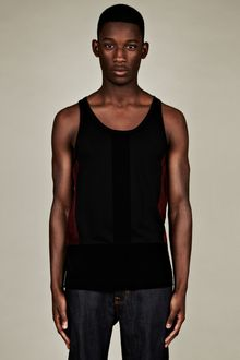 Christopher Kane Christopher Kane Mens Flock Panel Vest - Lyst