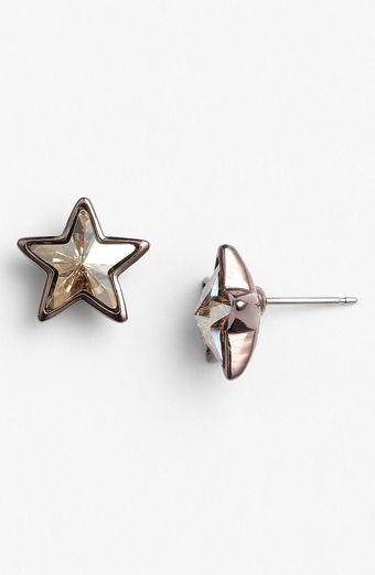 Givenchy Stars Crystal Stud Earrings - Lyst