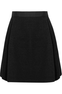 Lanvin Doublefaced Stretchwool Felt Bubble Skirt - Lyst