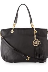 Michael by Michael Kors Bennet Medium Tote Black - Lyst