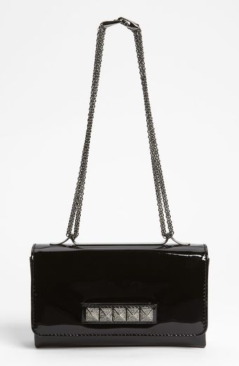 Valentino Va Va Voom Patent Leather Shoulder Bag - Lyst