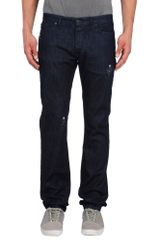 Viktor & Rolf Denim Trousers - Lyst