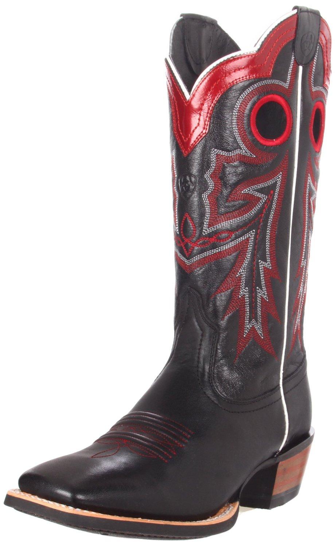 ariat ariat mens wildstock boot in black for black