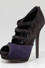 Fendi Galaxy Suede Mary Jane - Lyst