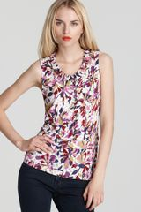 Marc By Marc Jacobs Top Sherwood Printed Jersey - Lyst