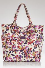 Marc By Marc Jacobs Tote Pretty Nylon Tate in Floral (white swan) - Lyst