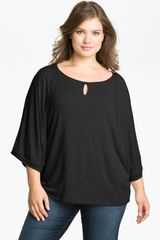 Pleione Beaded Dolman Sleeve Top - Lyst