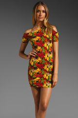 Torn By Ronny Kobo Mary Jungle Print Dress - Lyst