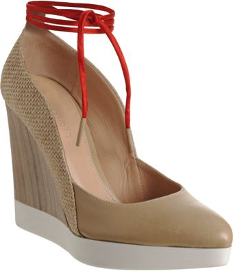Jil Sander Multimaterial Wedge Pump - Lyst