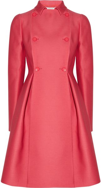 Valentino Wool and Silk Radzimir Coat - Lyst