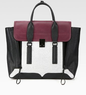 3.1 Phillip Lim Pashli Colorblock Satchel - Lyst