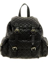 Asos Quilted Backpack
