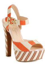 Jessica Simpson Papaya Platform Sandals - Lyst