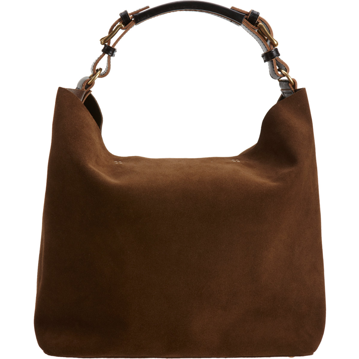 Marni Suede Hobo Bag in Brown | Lyst