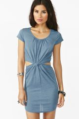 Nasty Gal Twisted Knot Dress - Lyst