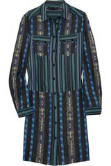 Proenza Schouler Printed Cottontwill Shirt Dress - Lyst
