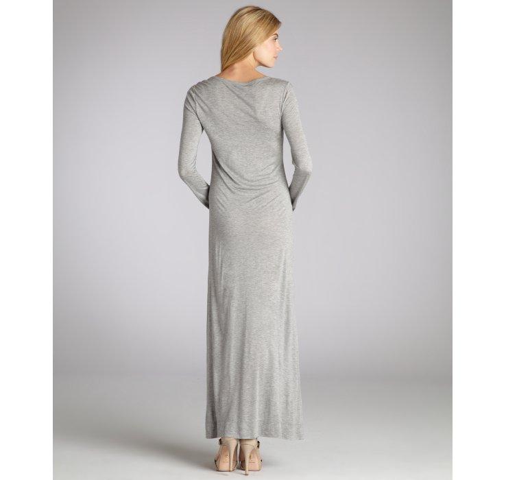 Alc grey maxi dress