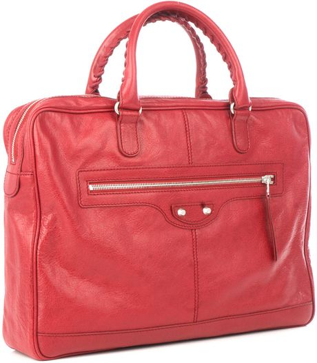 Balenciaga Minifolder Commuting Bag in Red for Men