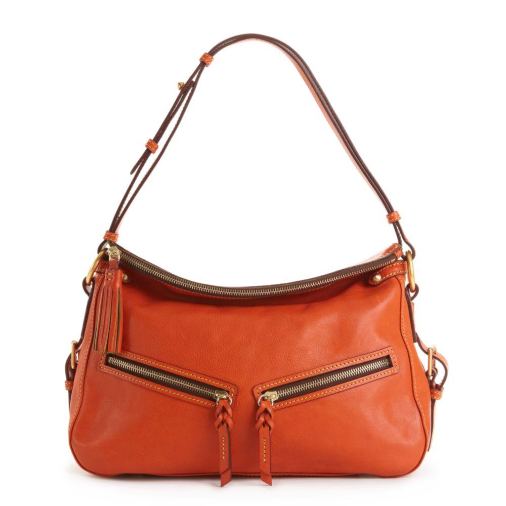 86fb896bc9d Lyst - Dooney & Bourke Florentine Vaccheta Bag in Orange