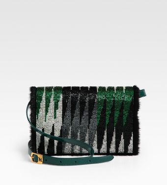 Fendi Daisy Mixedmedia Shoulder Bag - Lyst