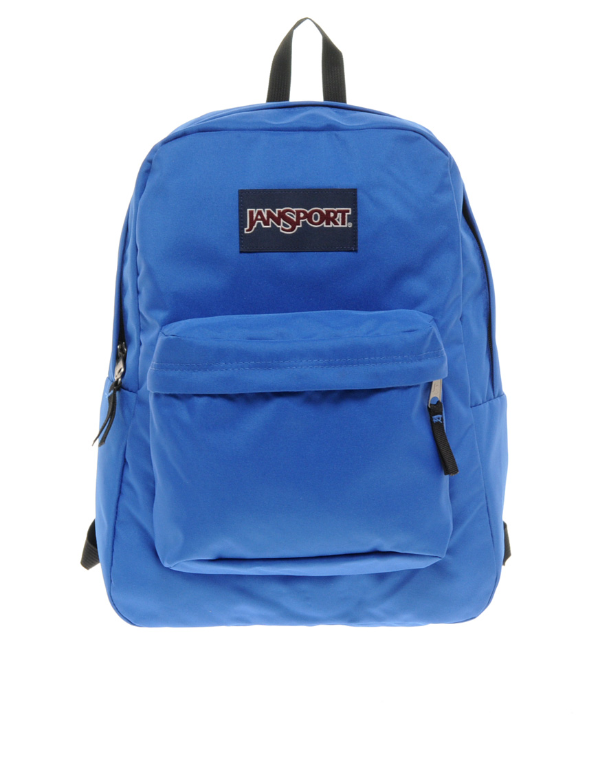 Jansport Superbreak Backpack in Blue for Men | Lyst