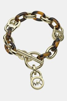 Michael by Michael Kors  Link Toggle Bracelet - Lyst