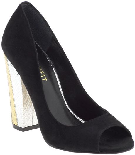 Nine West Peaceout in Black (black suede) - Lyst