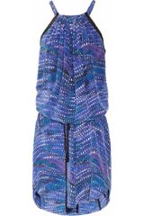 See By Chloé Las Vegas Printed Silk Dress - Lyst