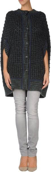 Missoni Capes in Gray (green) - Lyst