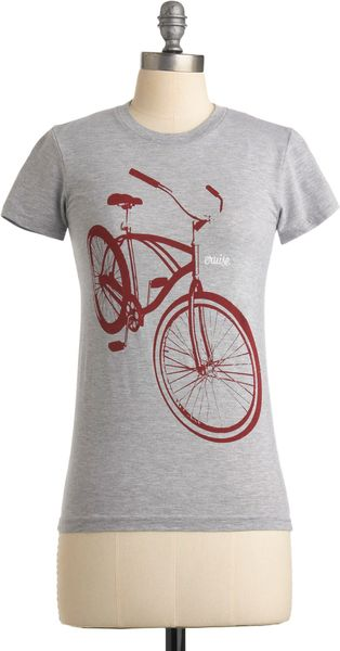 ModCloth Cruisin Together Tee - Lyst