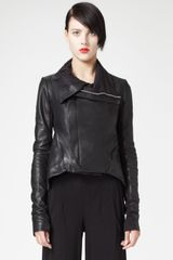 Rick Owens Classictail Leather Jacket - Lyst