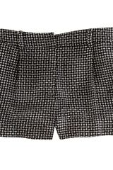 Diane Von Furstenberg Naples Shorts in Black - Lyst