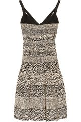 Hervé Léger Giraffeprint Bandage Dress - Lyst