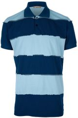 John Galliano Seam Detail Polo Shirt - Lyst