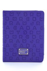Marc By Marc Jacobs Dreamy Logo Neoprene Tablet Book - Lyst