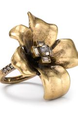 Marc By Marc Jacobs Flower Ring - Lyst