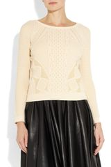 McQ by Alexander McQueen Knitted Brocade Sweater - Lyst