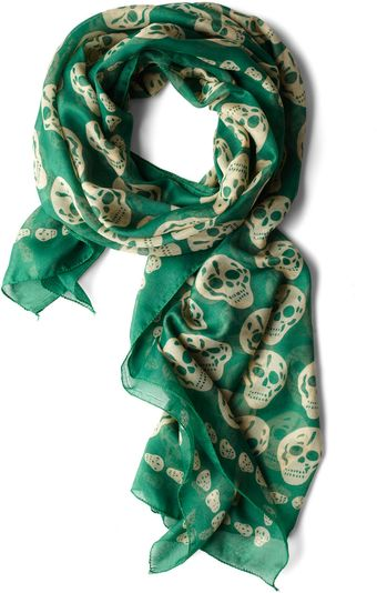 ModCloth Grin and Wear It Scarf - Lyst