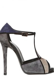 Roger Vivier 120mm Prismick Suede Open Toe Pumps - Lyst