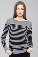 Akris Punto Striped Sweater - Lyst